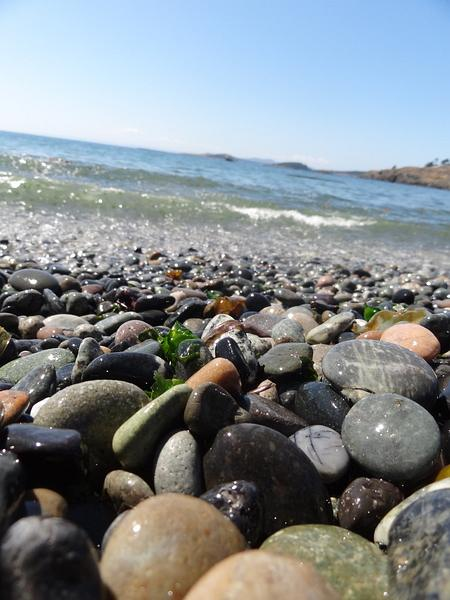 Agate Beach On Lopez Island